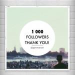 1000 followersów @IgersWarsaw na Instagramie
