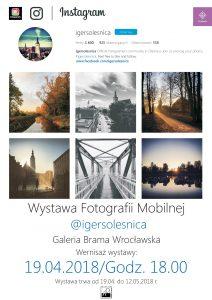 Wystawa Fotografii Mobilnej IgersOlesnica @ Biblioteka i Forum Kultury w Oleśnicy | Oleśnica | Województwo dolnośląskie | Polska